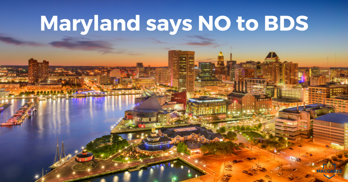 Maryland anti-BDS Law