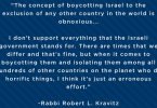 Anti-BDS Quote