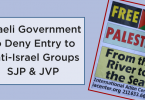 Anti-Israel Campus Groups banned from Israel