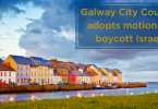 Galway City Council adopts motion to boycott Israel