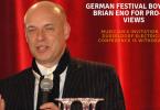 GERMAN FESTIVAL BOYCOTTS BRIAN ENO FOR PRO-BDS VIEWS