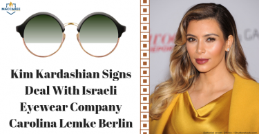 Kim Kardashian Signs Deal With Israeli Eyewear Company Carolina Lemke Berlin