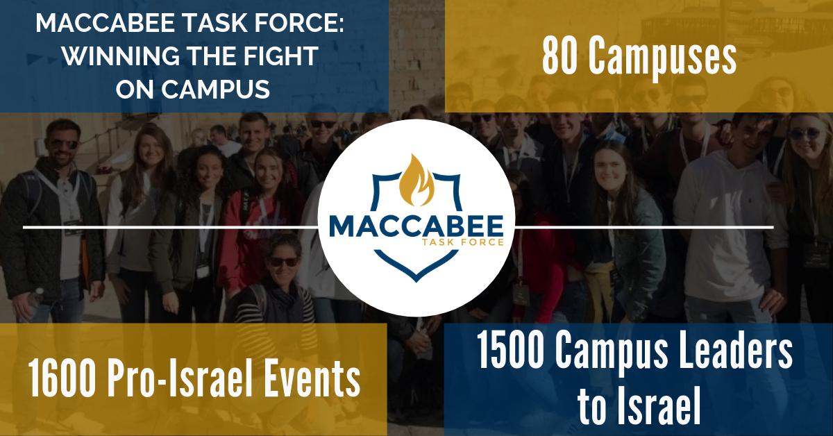 Maccabee Task Force - We Combat Anti-Semitism on Campuses