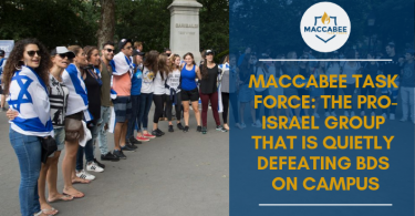 Maccabee Task Force The Pro-Israel Group That Is Quietly Defeating BDS on Campus