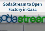 SodaStream to Open Factory in Gaza