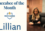 Maccabee of the Month Lillian