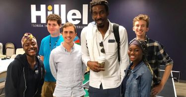 Amar'e Stoudemire is now an undergrad, goes to his campus Hillel and wants to boost black-Jewish relations