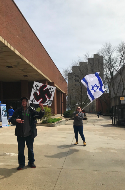 Student Supporting Israel UW Milwaukee