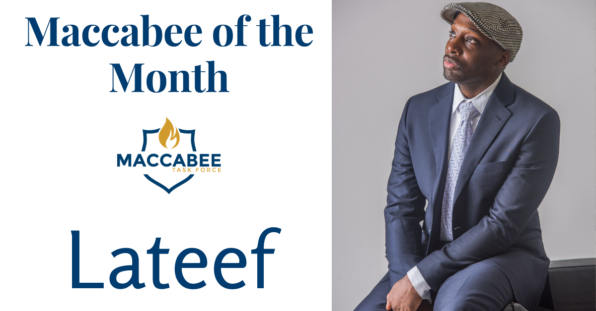 Maccabee of the Month Lateef
