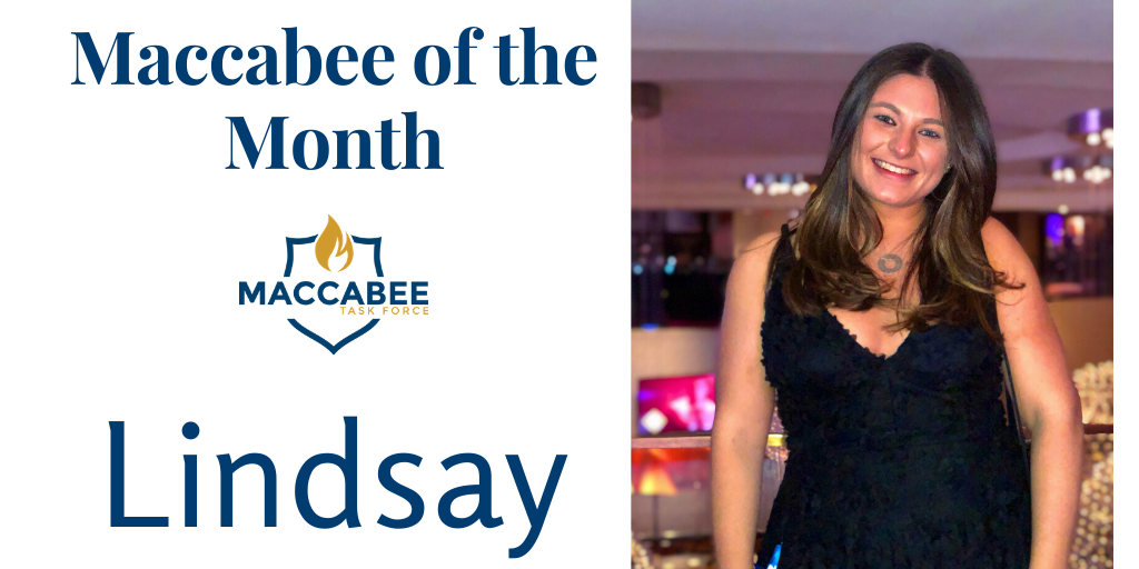 Maccabee of the Month Lindsay- Jewish Identity