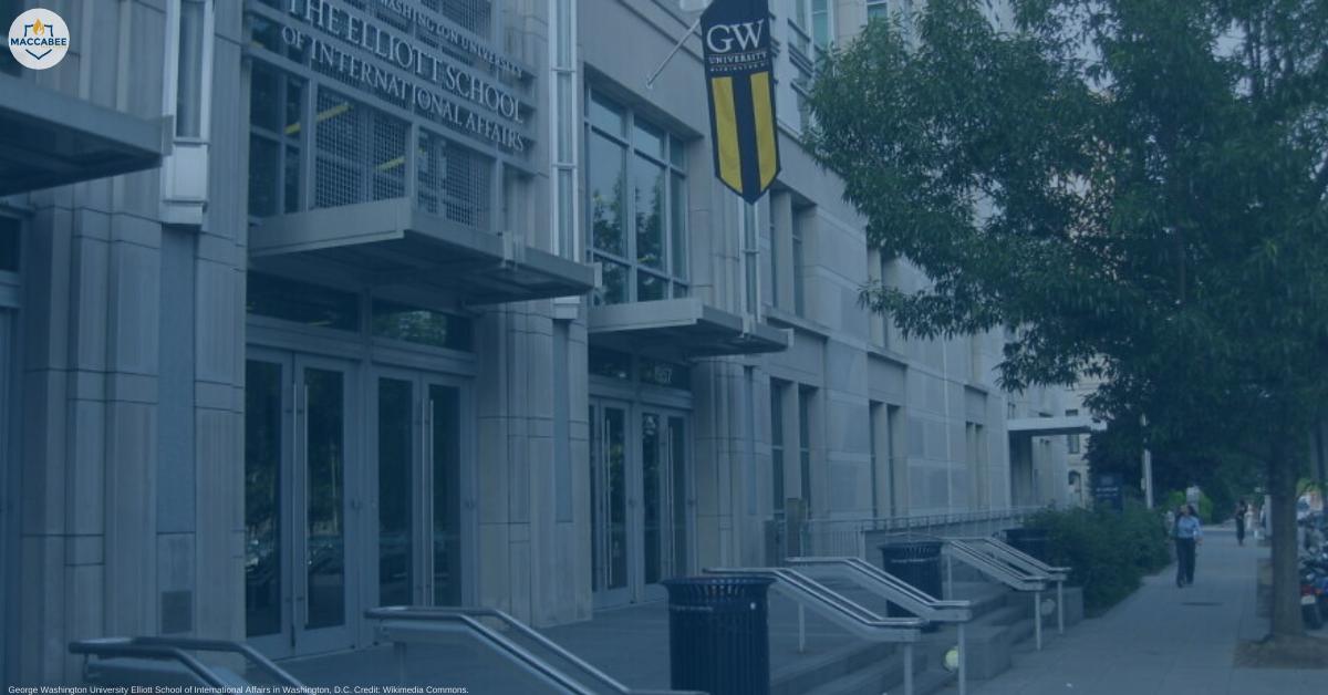 GWU international affairs school names BDS supporter as interim dean boycott Israel