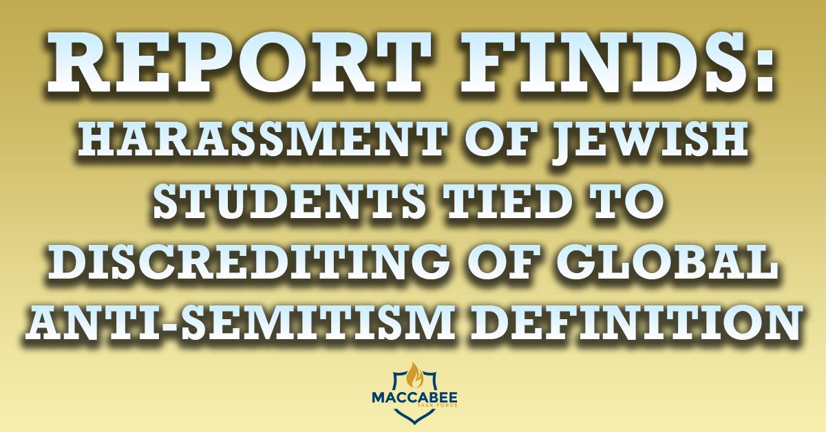 Report anti-semitism
