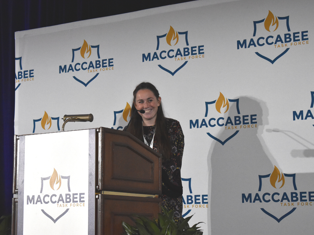 Kayla is a Maccabee