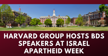 Harvard group hosts BDS speakers at Israel Apartheid Week