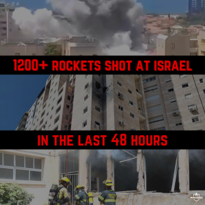 Over 1200 rockets from Gaza since yesterday, multiple Israeli casualties (1)
