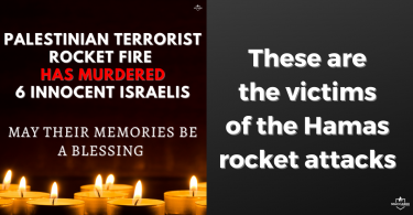 These are the victims of the Hamas rocket attacks