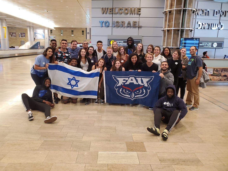 Celine Persaud, Florida Atlantic University Israel Trip