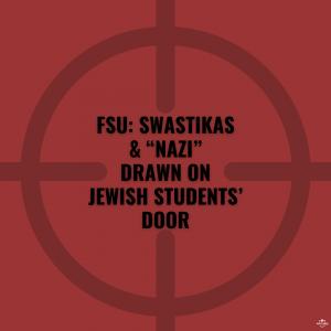 FSU: Swastikas & Nazi Drawn on Jewish Students' Door